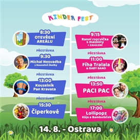 Kinder Fest - Ostrava - 14. 8. 2021