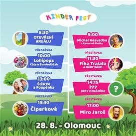 Kinder Fest - Olomouc - 28. 8. 2021