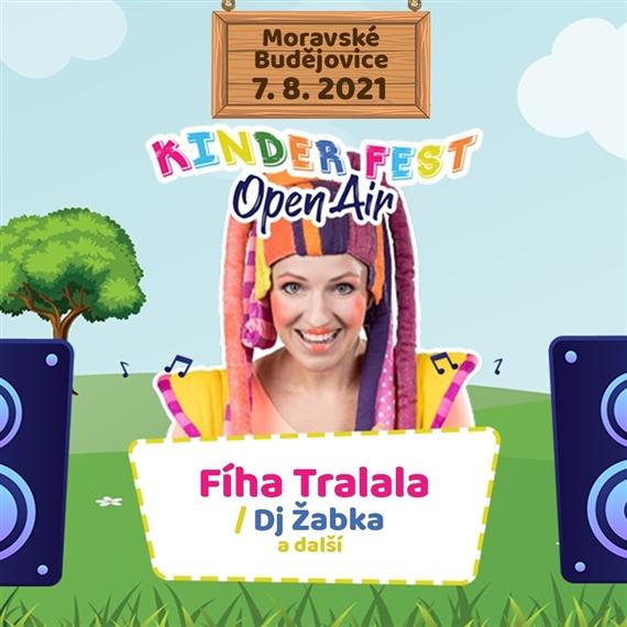 Fíha Tralala v Moravský Budějovicích // Kinder Fest Open Air