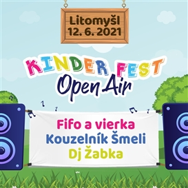 Kinder Fest OPEN AIR - Litomyšl