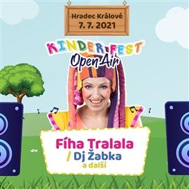 Fíha Tralala v Hradci Králové // Kinder Fest Open Air