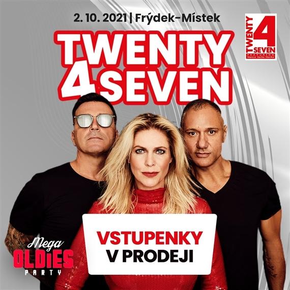 Twenty 4 Seven ve Frýdku-Místku // MEGA OLDIES PARTY