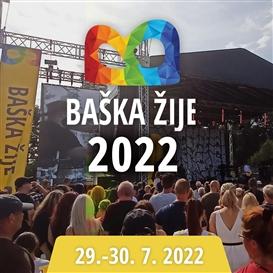 Baška Žije 2022 - Hudební festival