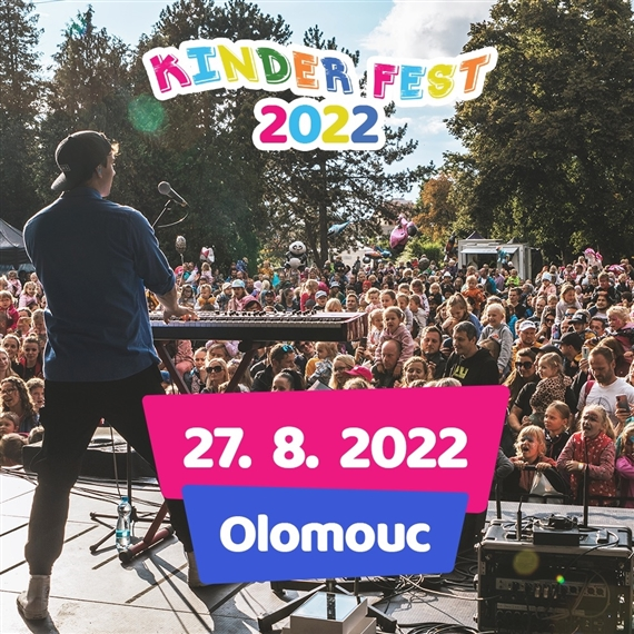 Kinder Fest Olomouc - 27. 8. 2022
